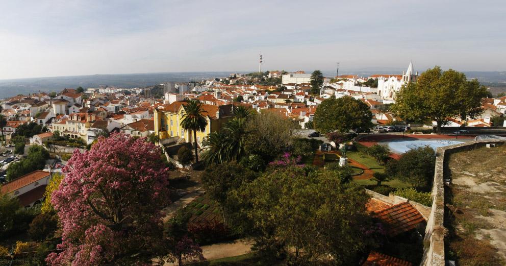 Vista sobre o centro histórico